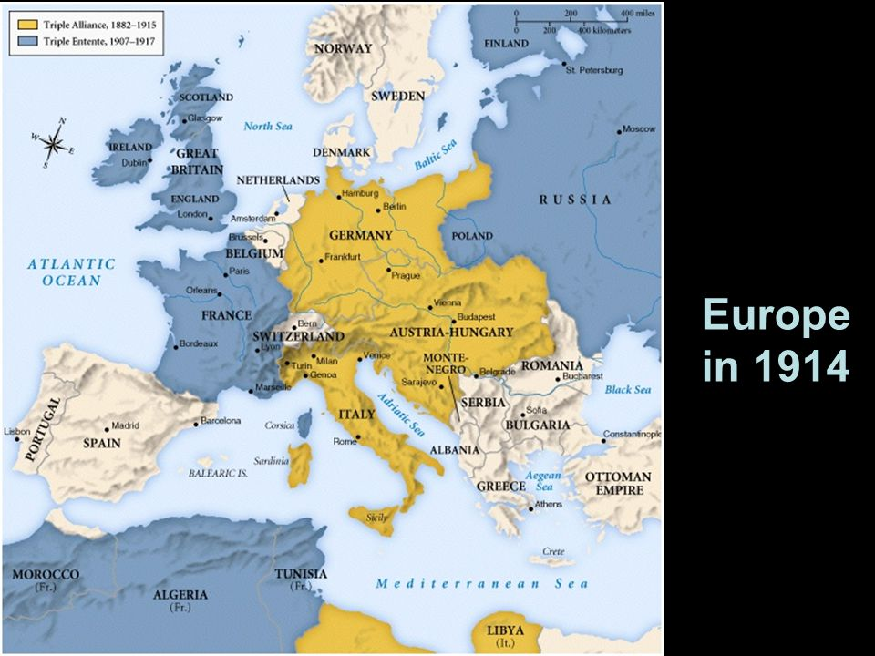 Europe in 1914