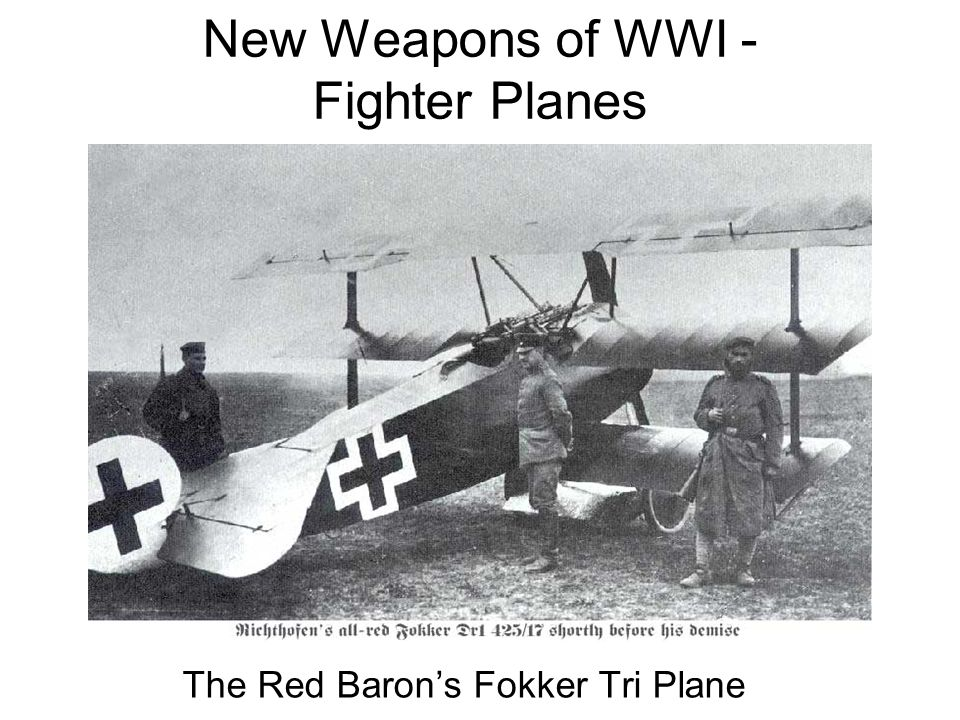 New Weapons of WWI - Fighter Planes