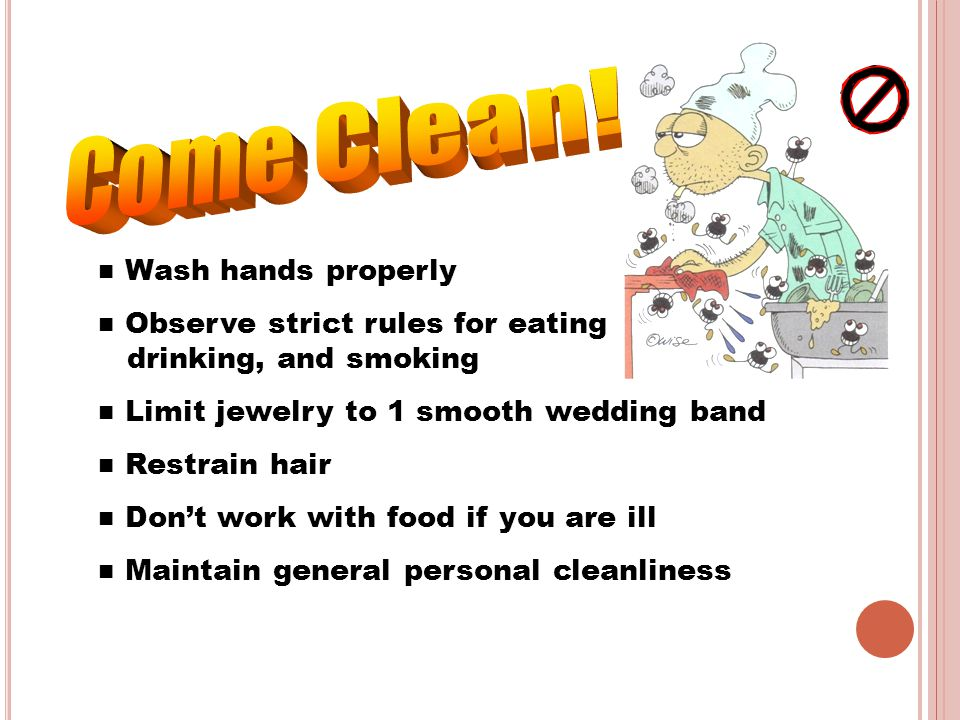 Come Clean! Wash hands properly