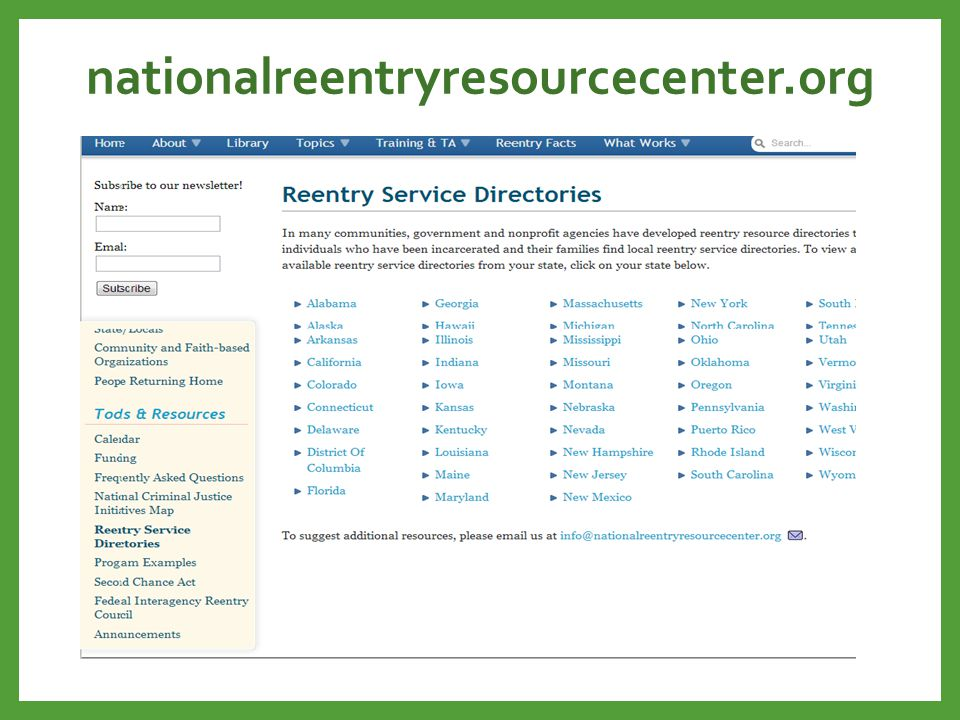 nationalreentryresourcecenter.org