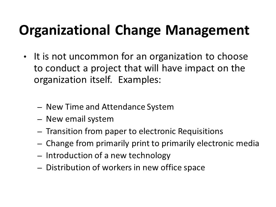 organizational change essay paper Read this business research paper and over 88,000 other research documents leading organizational change abstract this document will analyze the wells fargo network organization to discuss organizational change and methods to overcome resistance.
