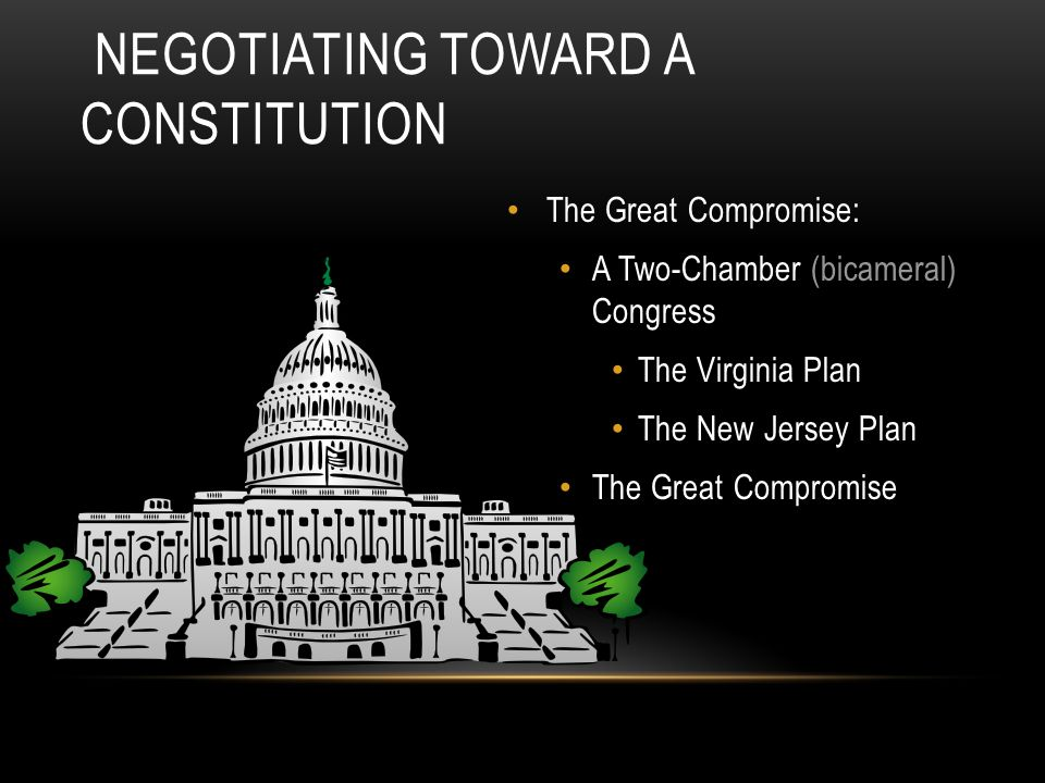 Negotiating Toward a Constitution
