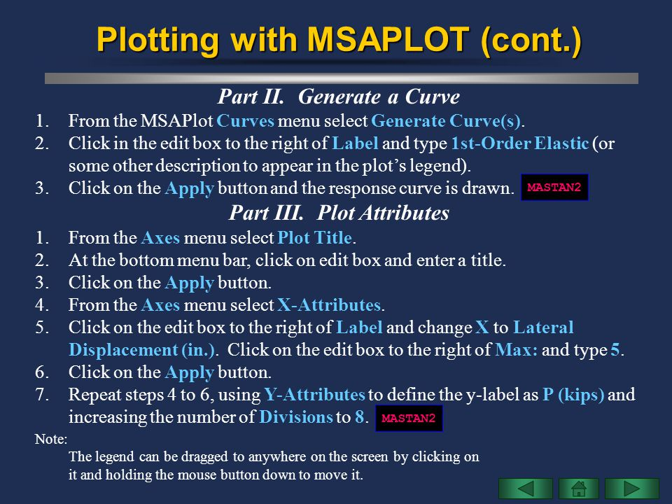 Plotting with MSAPLOT (cont.)