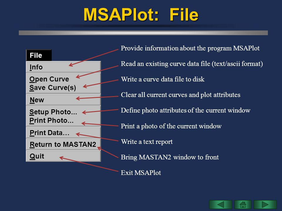 MSAPlot: File Provide information about the program MSAPlot File