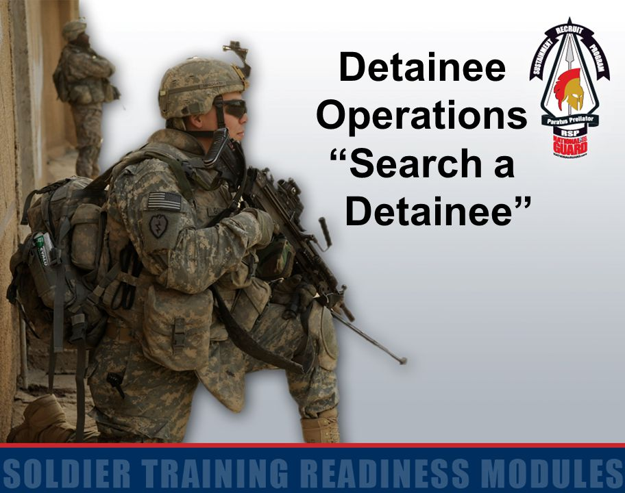 Detainee Operations Search a Detainee