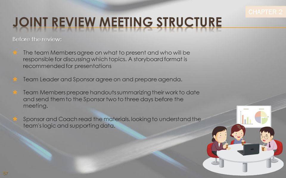 JOINT REVIEW MEETING STRUCTURE