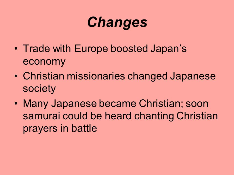 Changes Trade with Europe boosted Japan's economy