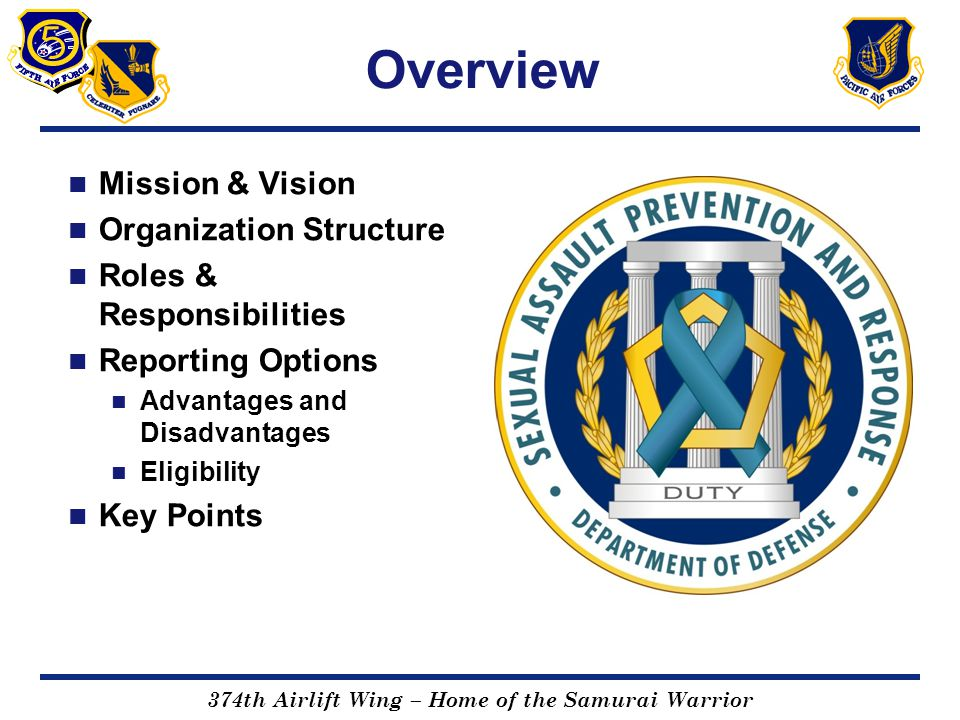 Overview Mission & Vision Organization Structure