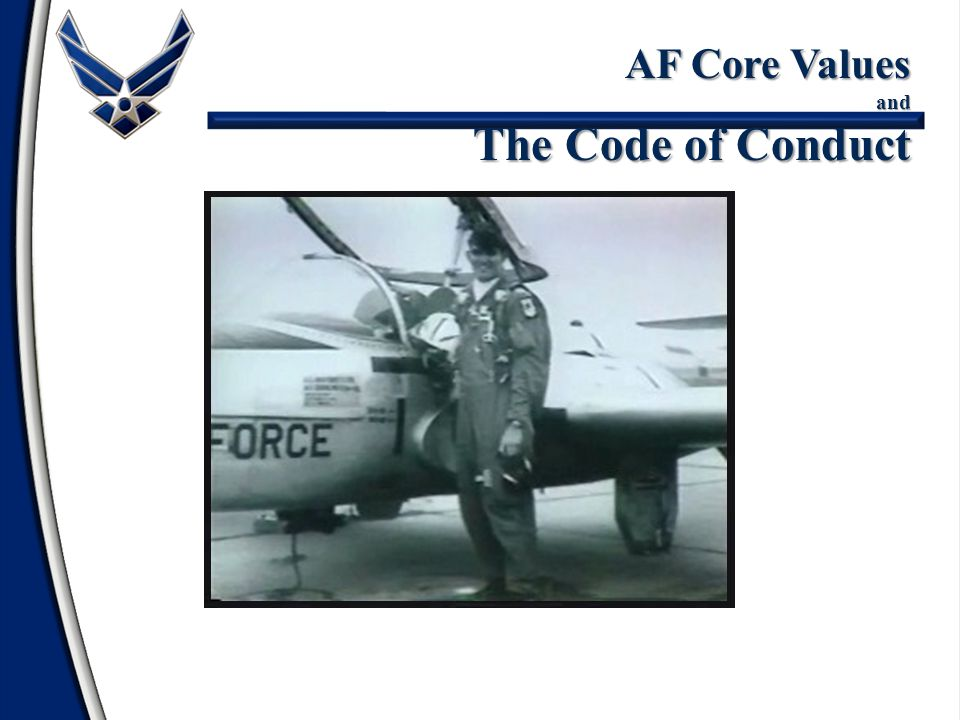 AF Core Values and The Code of Conduct