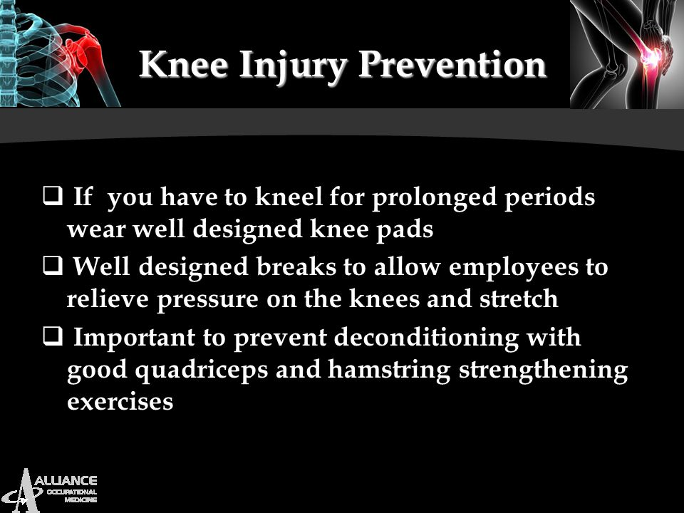 Knee Injury Prevention