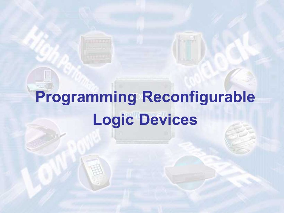 Programming Reconfigurable