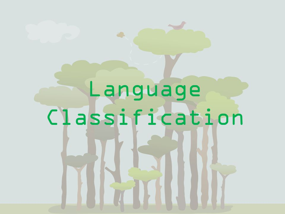 Language Classification