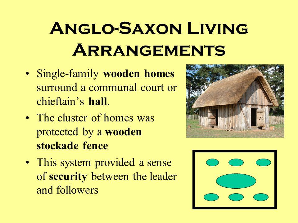 Anglo-Saxon Living Arrangements