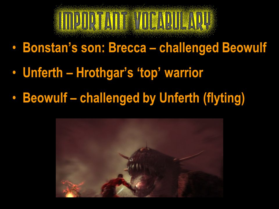 Bonstan's son: Brecca – challenged Beowulf