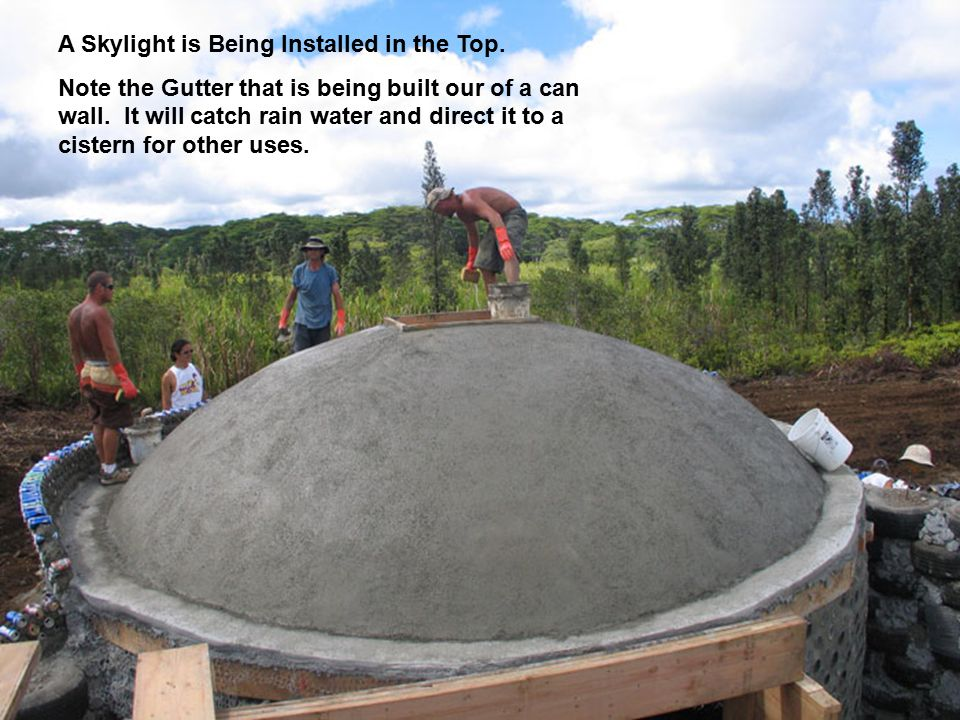 A Skylight is Being Installed in the Top.