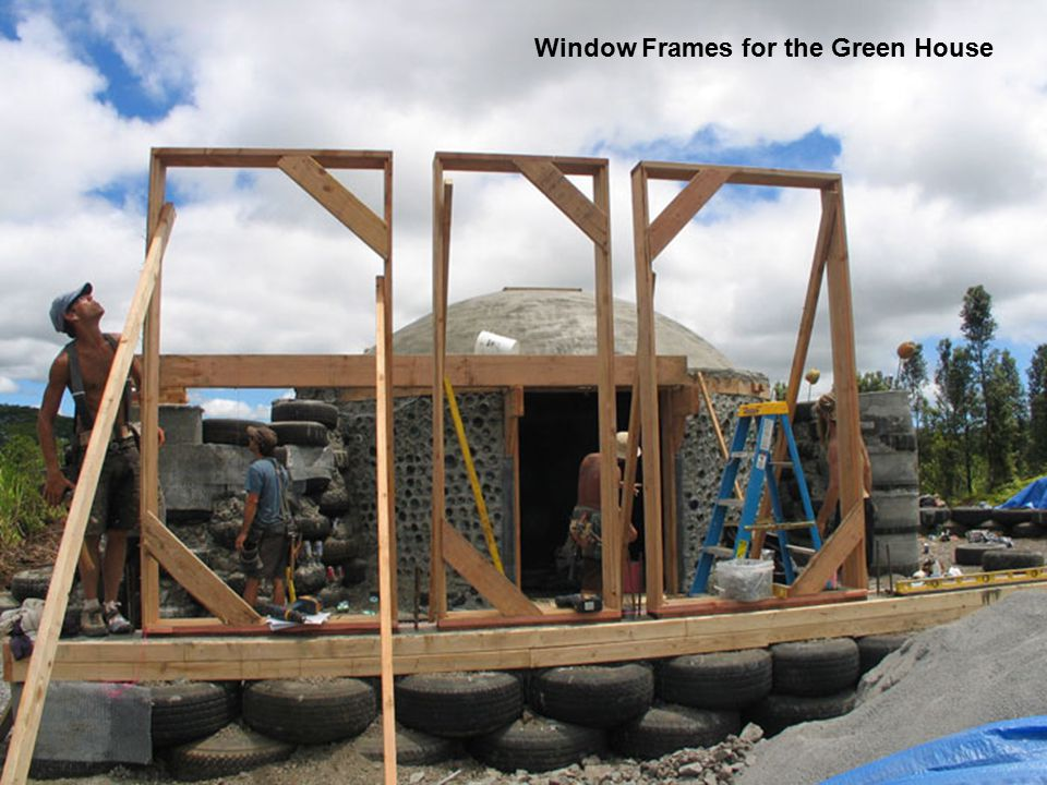 Window Frames for the Green House