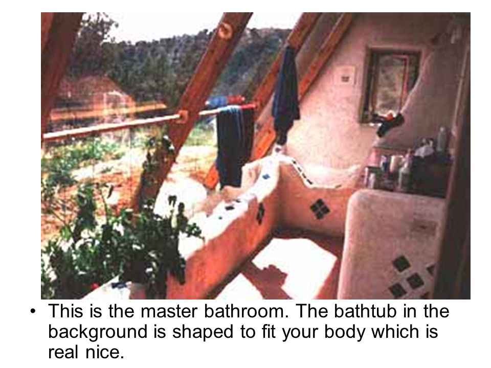 This is the master bathroom