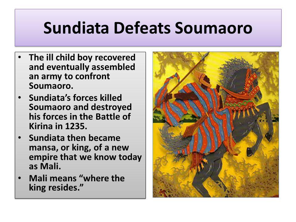 Sundiata Defeats Soumaoro