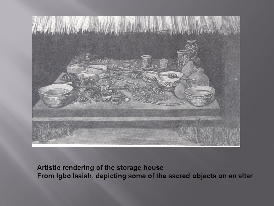 Artistic rendering of the storage house