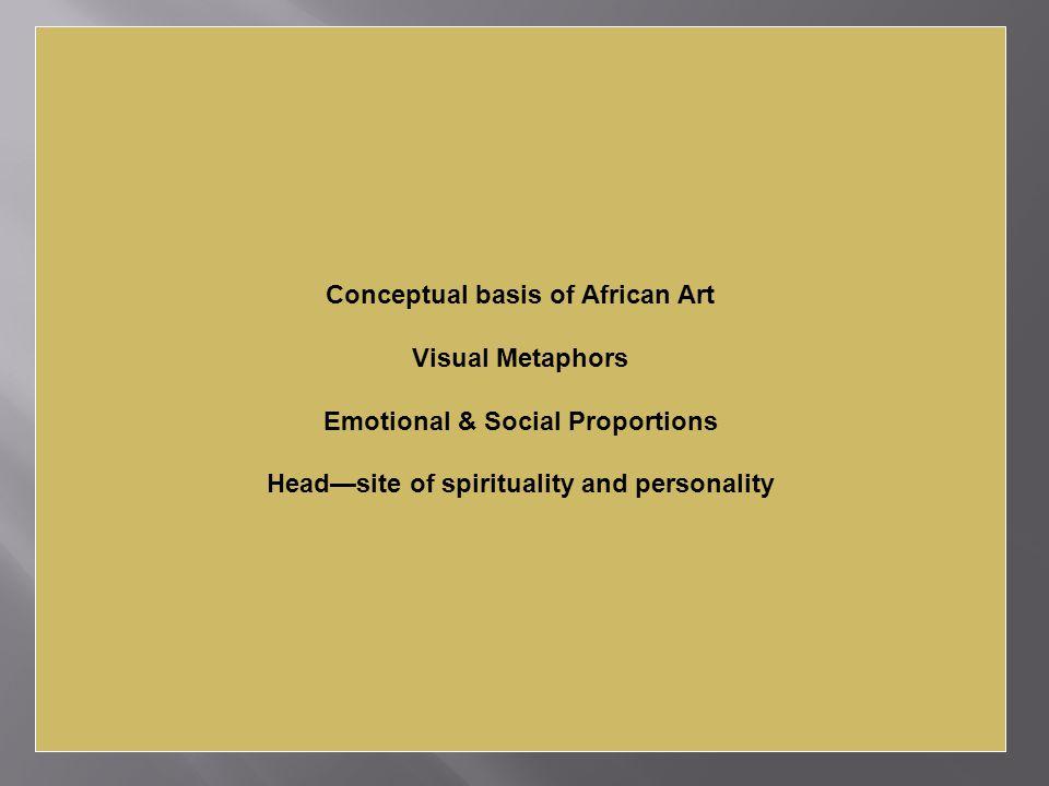 Conceptual basis of African Art Visual Metaphors
