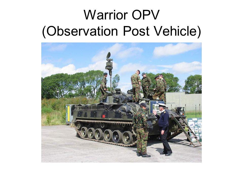 Warrior OPV (Observation Post Vehicle)