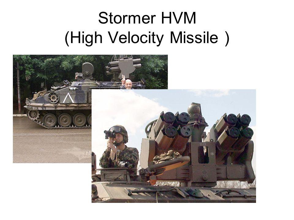 Stormer HVM (High Velocity Missile )