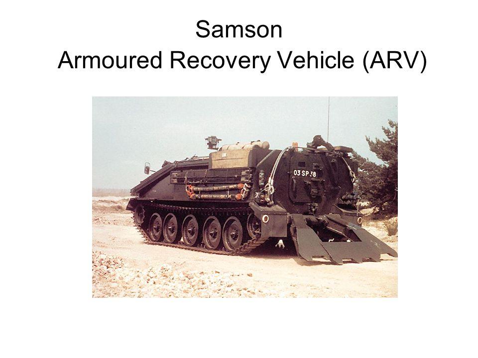 Samson Armoured Recovery Vehicle (ARV)