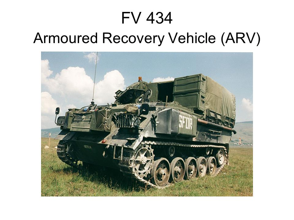 FV 434 Armoured Recovery Vehicle (ARV)