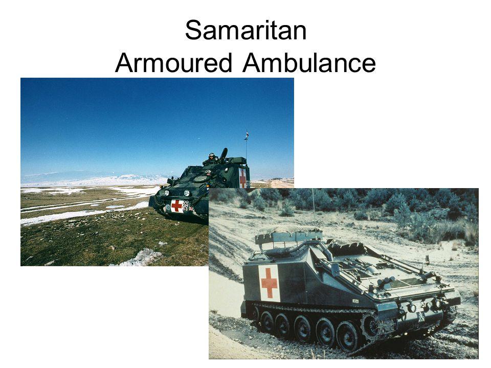 Samaritan Armoured Ambulance