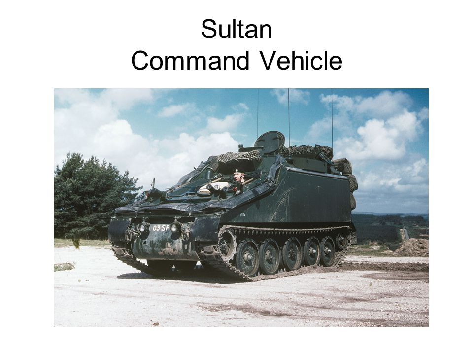 Sultan Command Vehicle