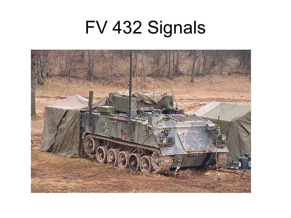 FV 432 Signals