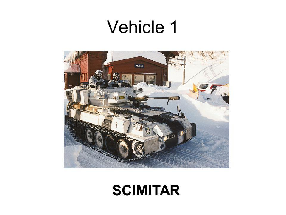 Vehicle 1 SCIMITAR