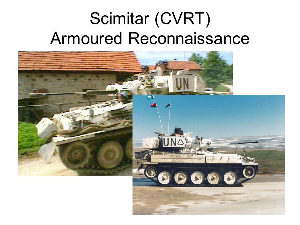 Scimitar (CVRT) Armoured Reconnaissance