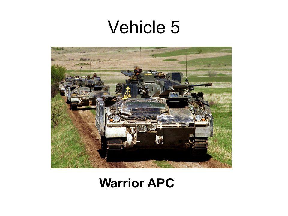 Vehicle 5 Warrior APC