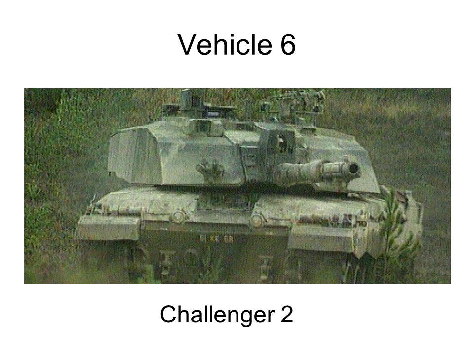 Vehicle 6 Challenger 2