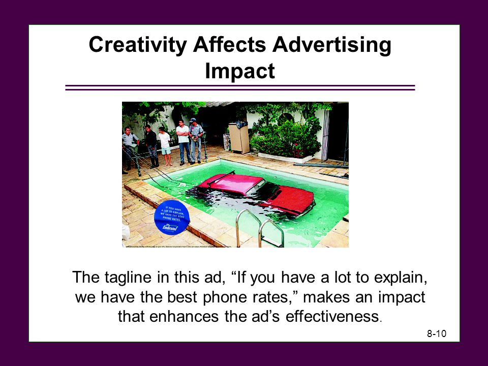 Creativity Affects Advertising Impact