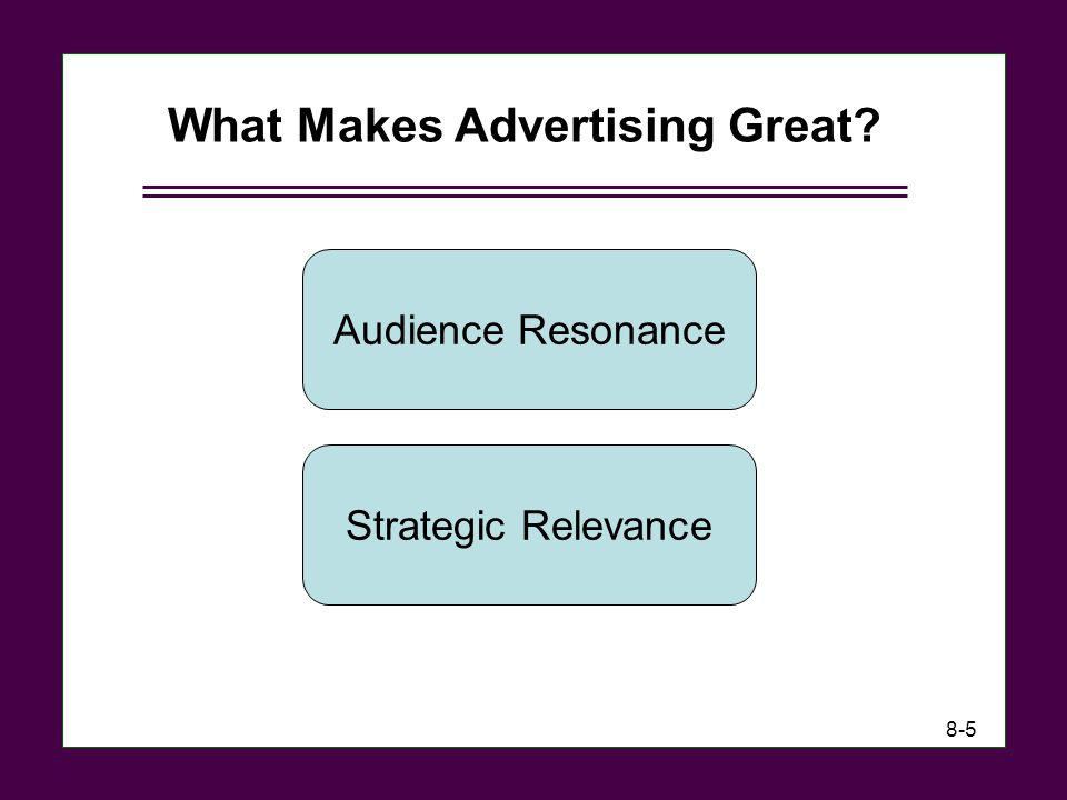 What Makes Advertising Great