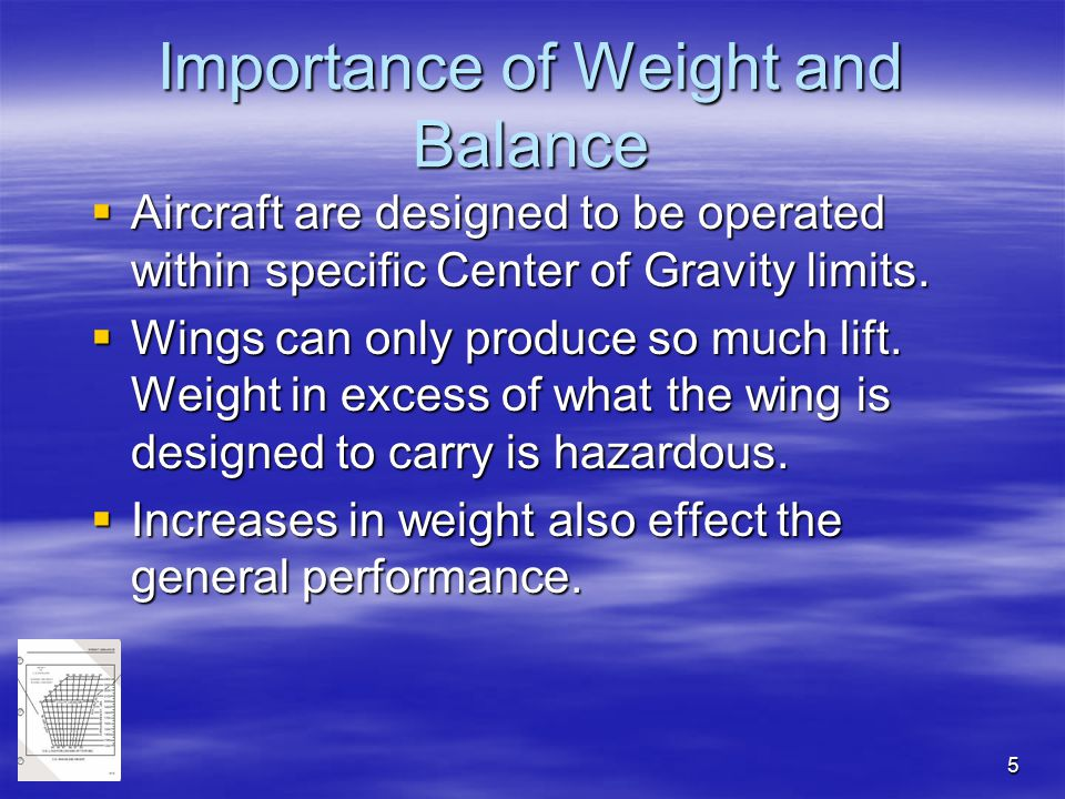 Importance of Weight and Balance