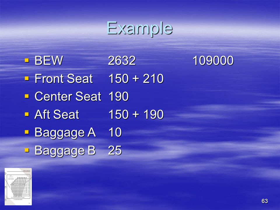 Example BEW 2632 109000 Front Seat 150 + 210 Center Seat 190