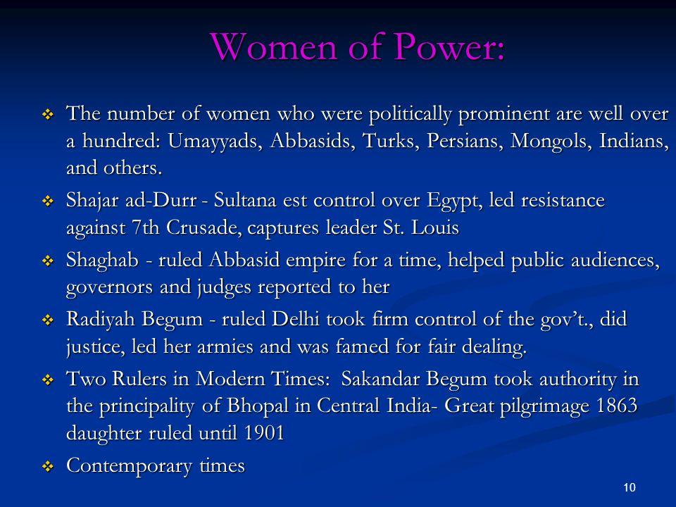 Women of Power: