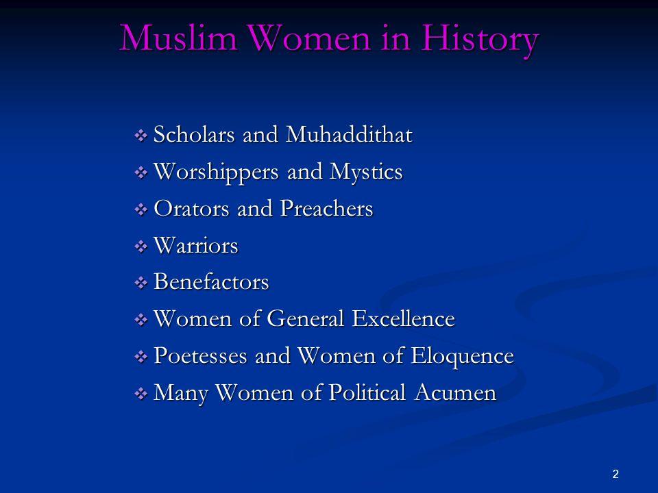 Muslim Women in History