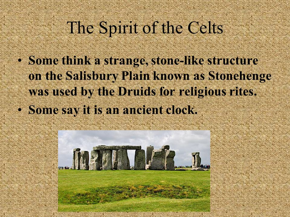 The Spirit of the Celts