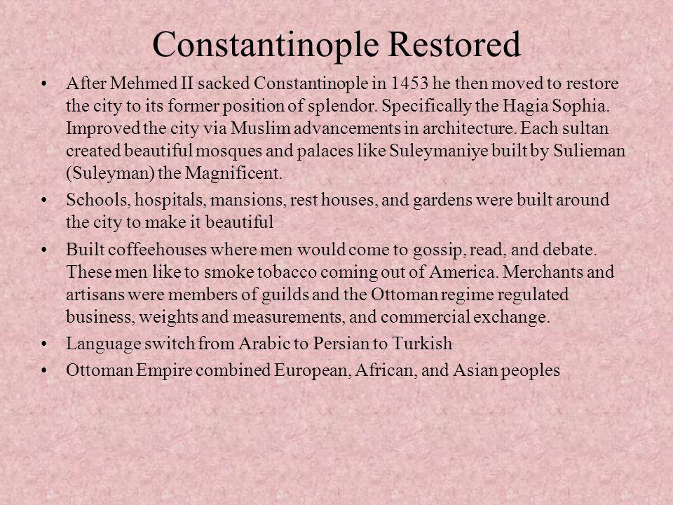 Constantinople Restored