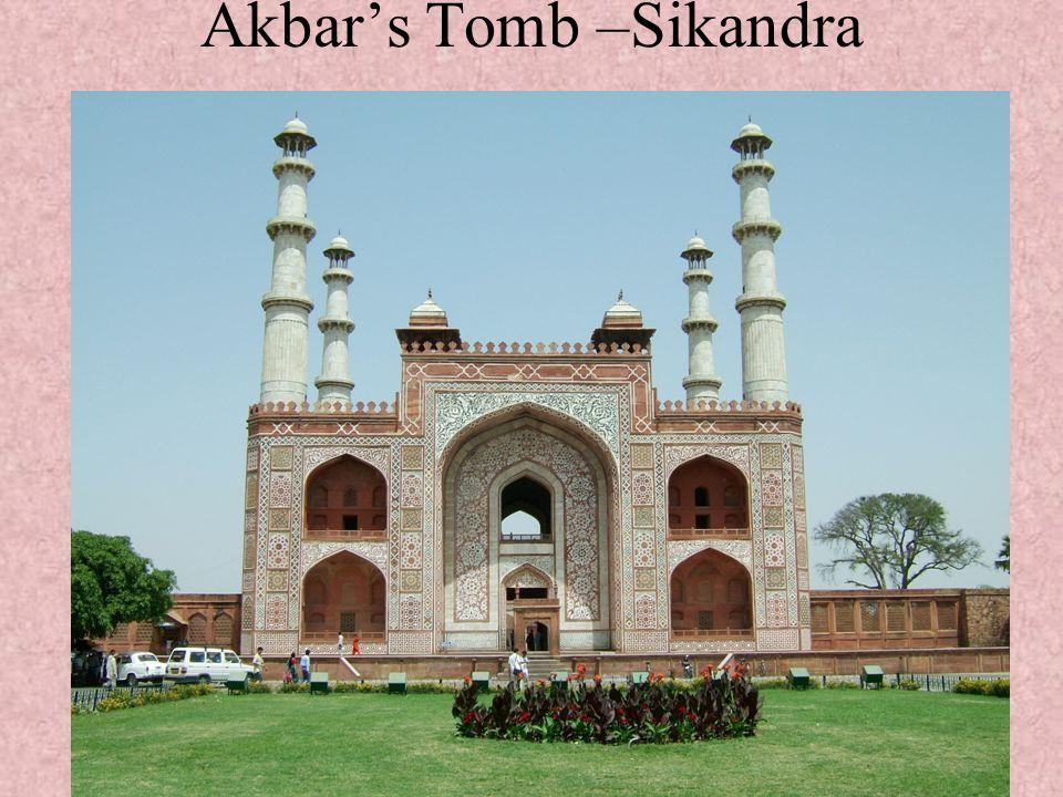 Akbar's Tomb –Sikandra