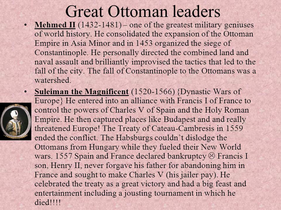 Great Ottoman leaders