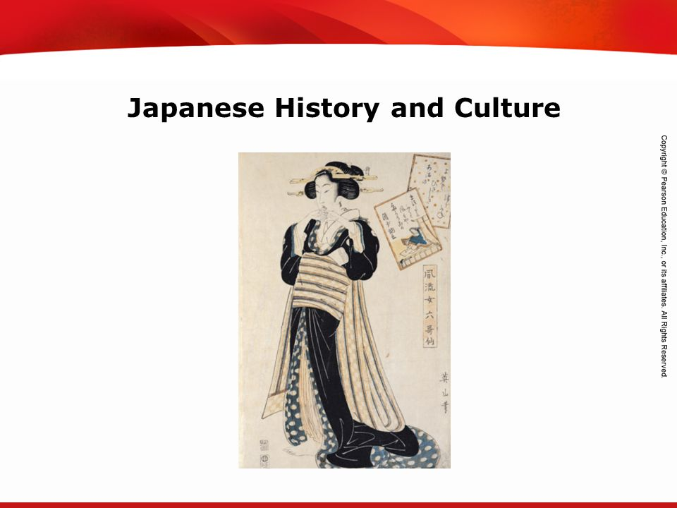 Japanese History and Culture