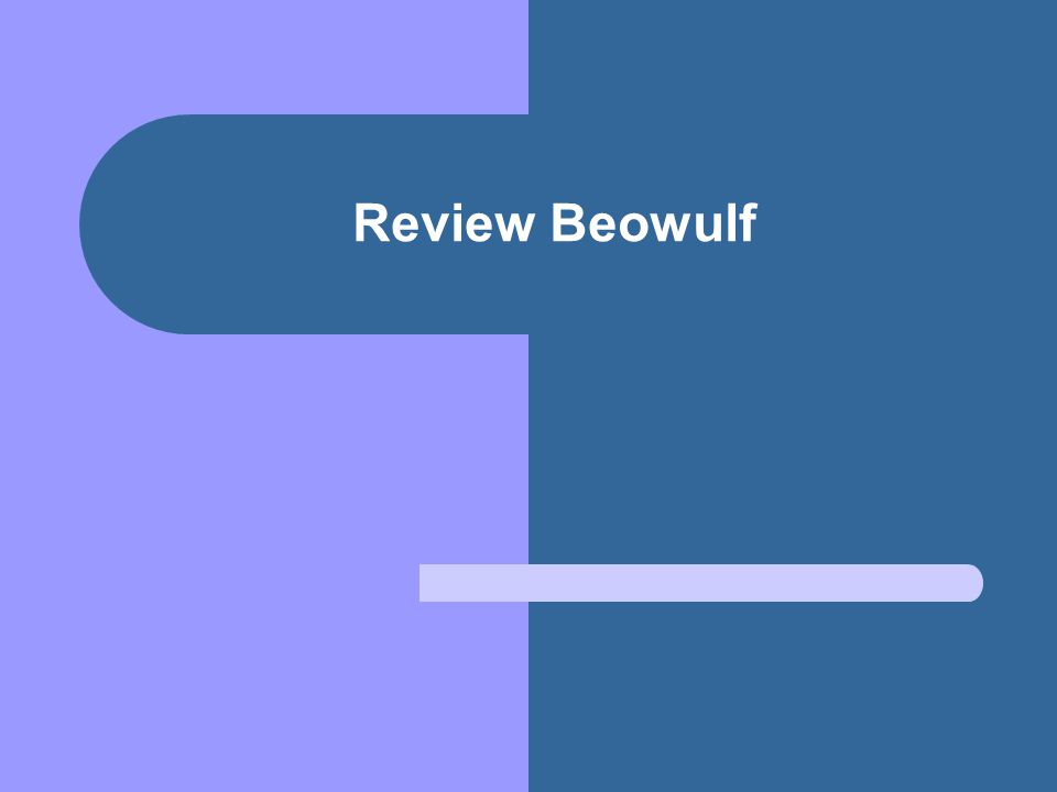 Review Beowulf