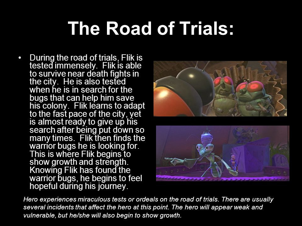 The Road of Trials: