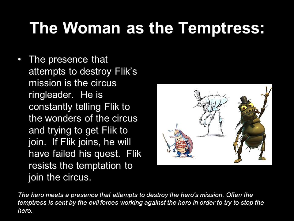 The Woman as the Temptress: