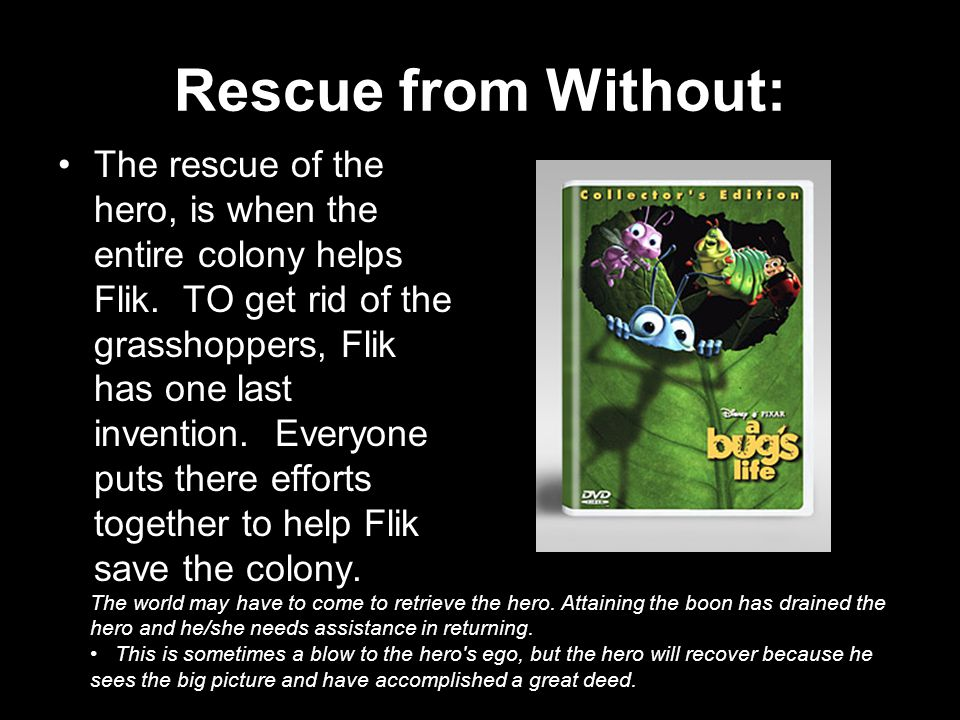 Rescue from Without: